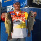 Land O' Lakes pro Ott Defoe of Knoxville, Tenn., bounded into fifth place today with an 18-pound, 8-ounce catch for a two-day total of 31 pounds, 5 ounces.