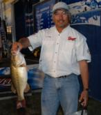 Lloyd Pickett of Bartlett, Tenn., is in the fourth place spot with a two-day total of 31 pounds, 13 ounces.