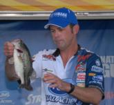 Keith Pace of Monticello, Ark., finished fourth with a three-day total of 45 pounds, 7 ounces.