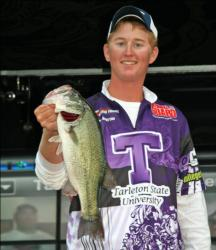 John Anderson threw a Horny Toad and caught three good fish for Tarleton State.