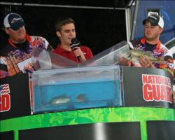 Local anglers, Jeffrey Rich and Aaron Sistrunk of Northwestern State finished fourth.