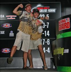 Hometown favorites, the UCF team of Matthew Norman and Dustin Lauer were elated to reach the top-5.