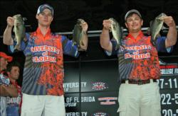 Although the kicker fish eluded them, UF