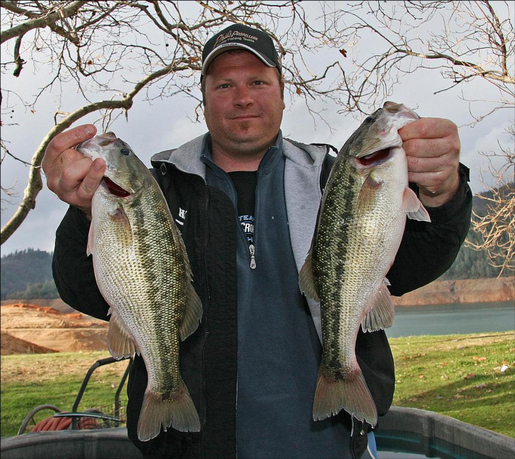 Wick capitalizes on opportunity for pro lead on shasta for Lake shasta fishing
