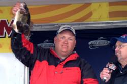 Pro Jeff Fitts of Keystone Heights, Fla., finished the American Fishing Series event on Lake Okeechobee in fourth place.