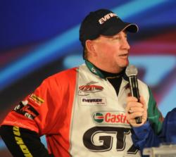 Greg Pugh finished in 5th place with a four-day total of 38-8 worth $18,000.