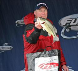 Sticking with a Megabass jerkbait proved effective for Marty Bohlke Jr.
