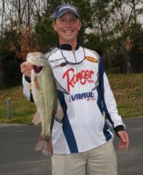 Pro Andy Montgomery of Blacksburg, S.C., is third place with a two-day total of 26-6.