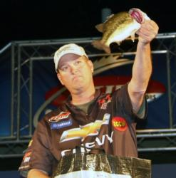Pro Chris Baumgardner finished the Fort Loudoun-Tellico event in fourth place with 49 pounds, 6 ounces.
