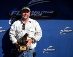 Co-angler William Dowden of Leesville, La., won the April 24 BFL Cowboy Division tournament on Sam Rayburn to earn $1,963.