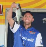 Donny Bass of Ft. Myers, Fla., finished third with a three-day total of 49 pounds.