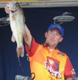 Frank Jordan, Jr., caught this kicker fish a noon today on a buzzbait to seal his win.
