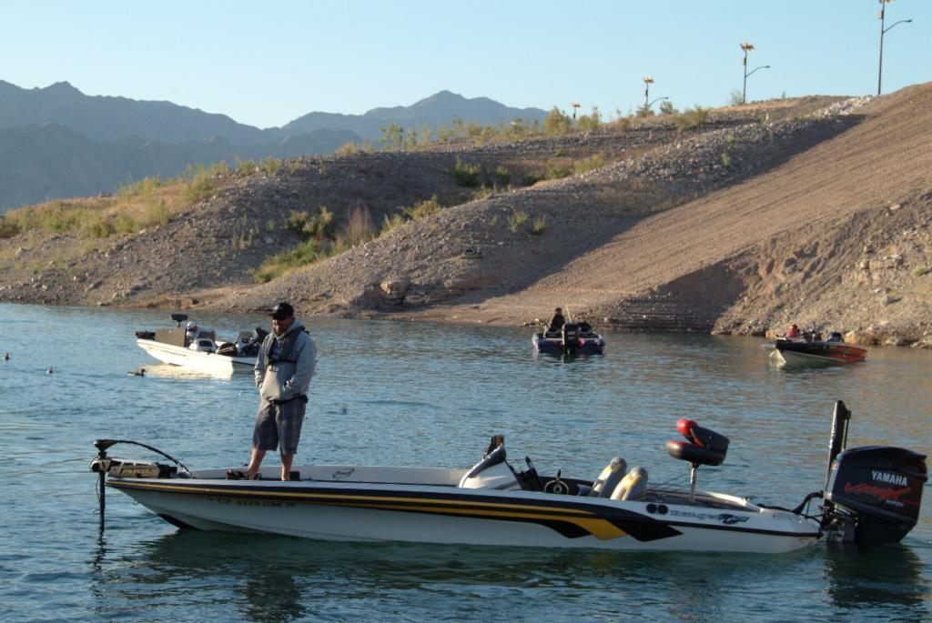 Las vegas crapshoot under way flw fishing articles for Las vegas fishing