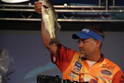 Scott Suggs of Bryant, Ark., finished the FLW Tour event on Lake Ouachita in second place.