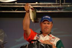 David Dudley of Lynchburg, Va., used a four-day catch of 56 pounds, 2 ounces to finish the FLW Tour Lake Ouachita event in third place.