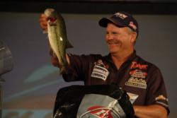 Keith Monson of Burgin, Ky., took fourth place overall at the FLW Tour event at Lake Ouachita.