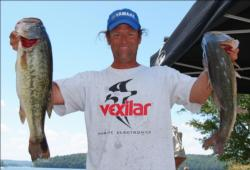 Jim Moynagh caught a five-bass limit Wednesday that weighed 23 pounds, 3 ounces.