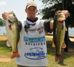 Keith Combs of Del Rio, Texas, is in fourth place after day two with 44-1.