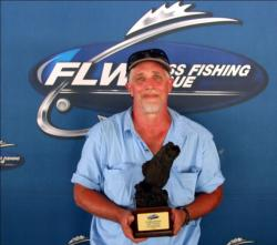 Donald Pailer of Arnold, Mo., earned $1,557 as the Co-angler Division winner on Truman Lake.