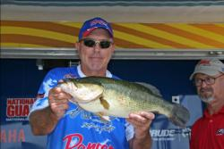 A bone colored Pop-R delivered tremendous action for Paul Noechel, including a 6-pound, 1-ounce largemouth that tied for the Big Bass spot.