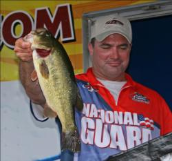 Staying near his Vermont home waters, second place pro Bill Spence finished just two ounces behind the winner.