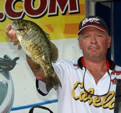 Day one leader Jeff Misaiko fished wacky-rigged Senkos and dropshots on day three.
