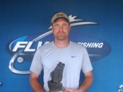 Co-angler Aaron Arning of Walnut Hill, Ill., recorded a 8-pound, 11-ounce catch to win the BFL Illini Division event on the Ohio River. For his efforts, Arning earned over $1,500 in winnings.