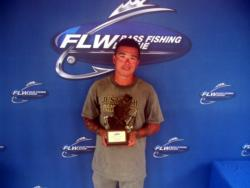 Robert Parmer Jr. of Linden, Pa., won $1,693 in the Co-angler Division on Lake Cayuga.