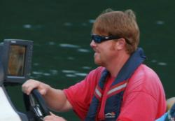 Alabama pro Kyle Mabrey plans to fish for suspended spotted bass on day one of the Forrest Wood Cup.