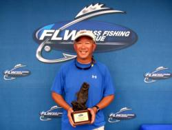 Co-angler Jerome Louie of Branchburg, N.J., earned $1,921 as winner of the Aug. 21 BFL Northeast Division event.