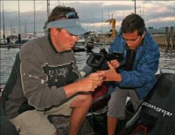 Mark Melnyk, host of World Fishing Network
