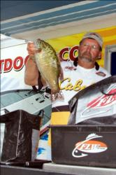 Pro Bill Chapman of Salt Rock, W. Va., placed fifth at Lake Erie, earning the points title in the AFS Northern Division and a berth into the 2011 Forrest Wood Cup.
