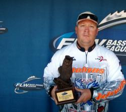 Justin English of Owensboro, Ky., was the co-angler winner of the Sept. 11-12 BFL LBL Super Tournament, earning $2,730.