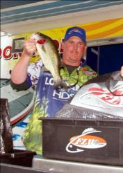 Jamie Ferdarko of Dubois, Pa., placed ninth in the Pro Division in the AFS Northern event on Erie.