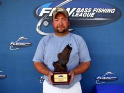Scott Davis of Coloma, Mich., earned $2,270 as co-angler winner of the Sept. 18-19 BFL Michigan Division Super Tournament.
