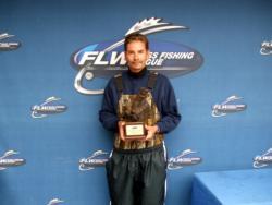 Keith Sebastian of Rogersville, Mo., earned $2,200 as the co-angler winner of the BFL Ozark Division Super Tournament.