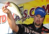 Jade Keeton of Florence, Ala., finished in fourth place with a three-day total of 44 pounds, 9 ounces.