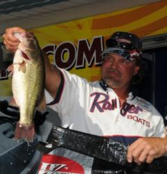 Kevin Snider of Elizabethtown, Ky., finished third with a three-day total of 45 pounds, 14 ounces and is now qualified for the 2011 Forrest Wood Cup..