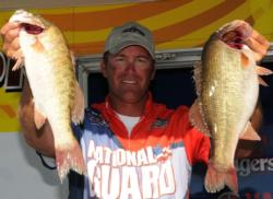 Randy Haynes of Counce, Tenn., dominates Pickwick again with fish like these.