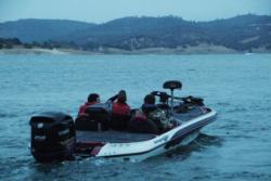 FLW College Fishing Western Regional qualifiers hit the open waters of Folsom Lake.