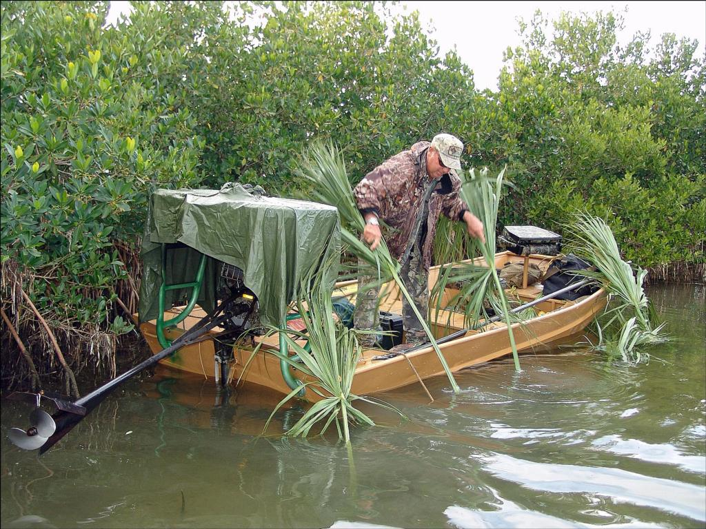 waterfowl forum blinds boat image hunting viewtopic motors blind boats chat duck canoe