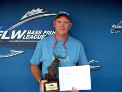 Jeff McCarnan of Henderson, Ky., earned a Ranger boat package as the Co-angler Division winner of the Oct. 21-23 BFL Regional on Kentucky Lake.