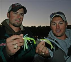 A swim jig and a chatterbait will be the plan for Texas A&M