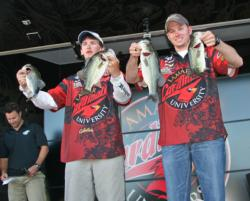 A midday adjustment delivered big results for the Lamar University anglers.