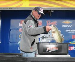 Rounding out the top five is Robert Boyd of Russellville, Ala., with a five-bass limit weighing 13-1