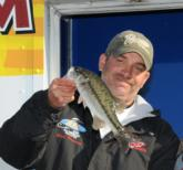 Steve Harwood of Weaverville, N.C., finished fifth with a three-day total of 23-6.