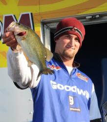 Co-angler Andrew Luxon of Richmond, Ky., finished runner-up with a three-day total of 30-14.