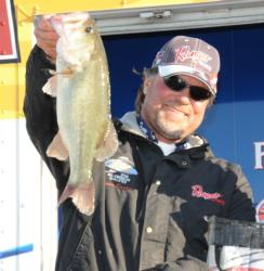 Kevin Snider, the AFS Angler of the Year in the Southeast Division, finished runner up with a three-day total of 37-12.