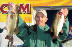Chad Aaron dominated the tournament with Wheeler bass that looked like this, which gave him nearly a 15-pound winning margin.