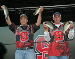 Will White and Jeff Bumgarner put a second NC State team in the top five for day one.
